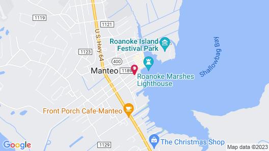 Roanoke Island Inn Map