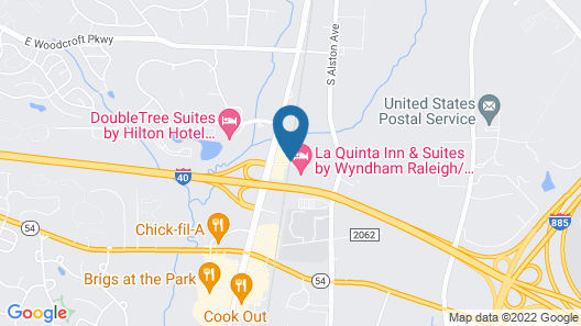 La Quinta Inn & Suites by Wyndham Raleigh/Durham Southpoint Map