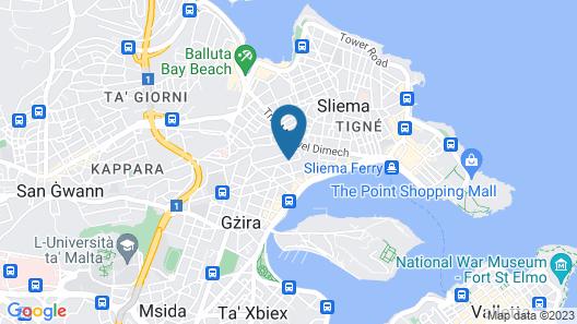 Bencini Apartments Map