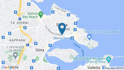 Mr. Todd Hotel Map