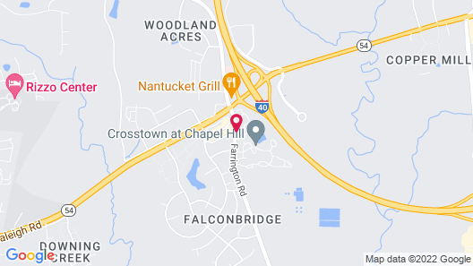 Holiday Inn Express Chapel Hill, an IHG Hotel Map