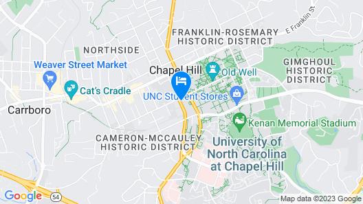 The Carolina Inn, a Destination by Hyatt Hotel Map