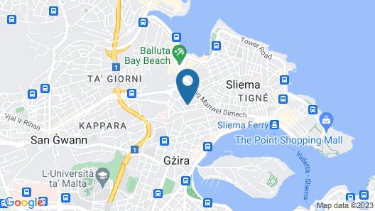 Palazzo Violetta Map