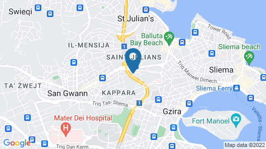 Boho Hostel Map