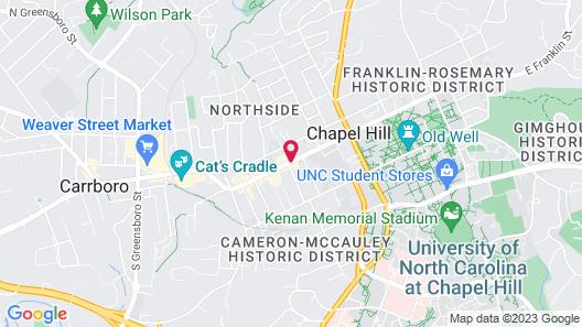 Graduate Chapel Hill Map