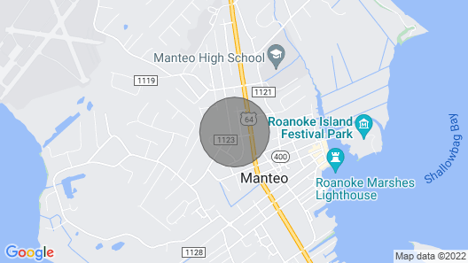 Outer Banks Island Retreat! Map