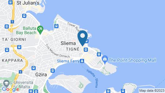 Alborada Aparthotel Map