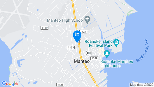 Island Guesthouse and Motel Map