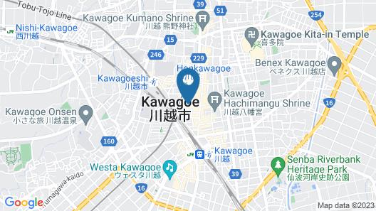 SuperHotel Saitama Kawagoe Map