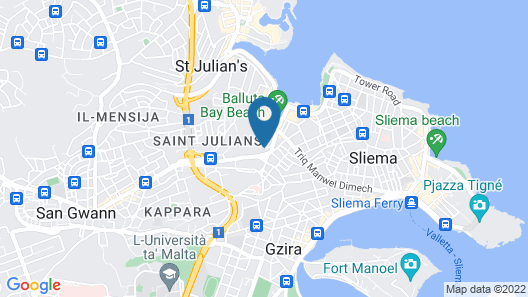HOLM Boutique & SPA Map
