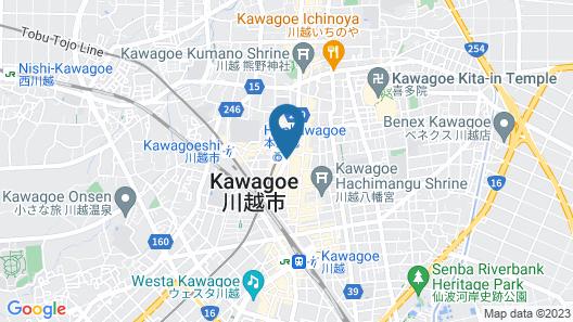 Kawagoe Prince Hotel Map