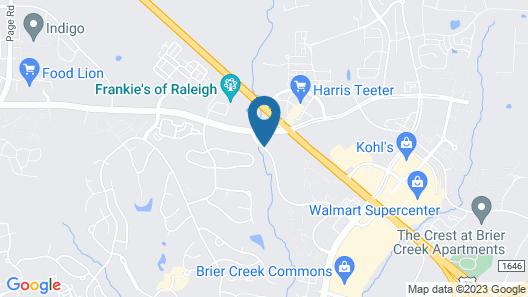 Residence Inn Raleigh-Durham Airport/Brier Creek Map