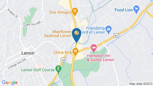 Days Inn by Wyndham Lenoir Map