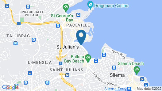 Spinola Bay Apartment Map