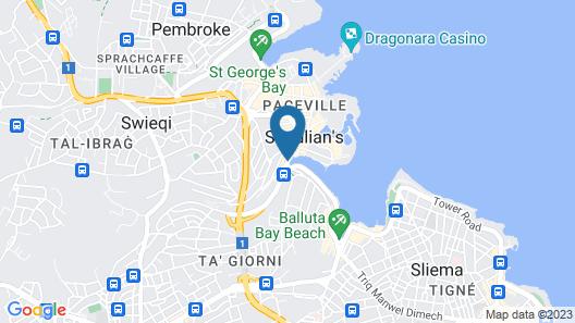 Hotel Juliani Map