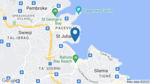Cavalieri Art Hotel Map