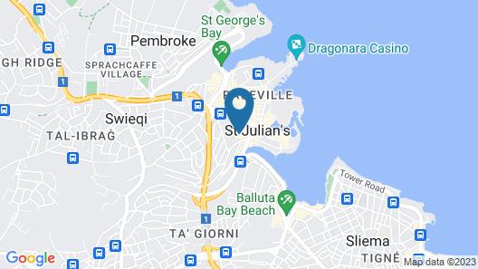 Dean Hamlet Hotel Map