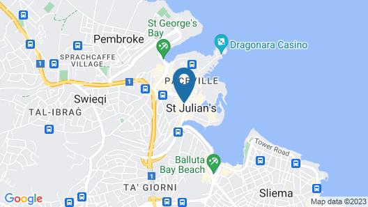 Marco Polo Malta Hostel Map