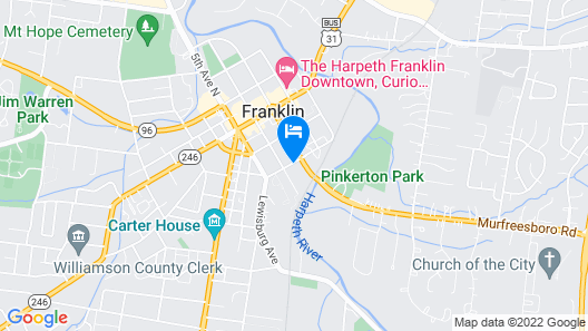 Historic 19th-century Franklin 3 Bedroom Home Map
