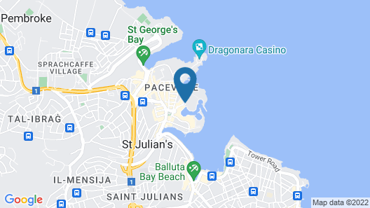 Hilton Malta Map
