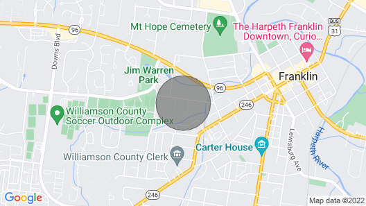 Veteran Owned Guest Home, Walk to Downtown, 6th Generation Locals, Love Pets! Map