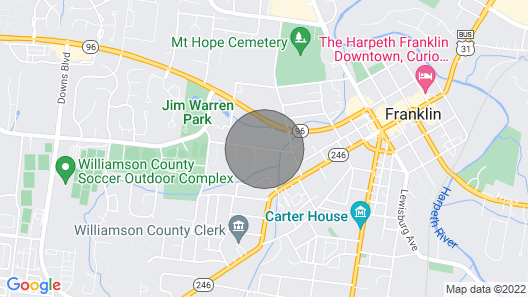 The Mill: A Modern Guesthouse in Downtown Franklin Map