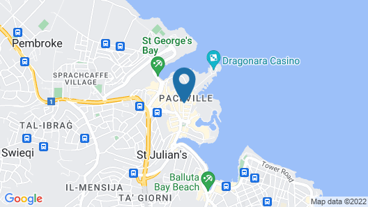 The George, Urban Boutique Hotel Map