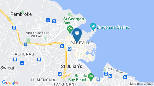 PV Hostel Map