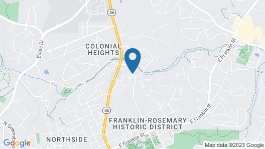 Chapel Hill InnTown Map
