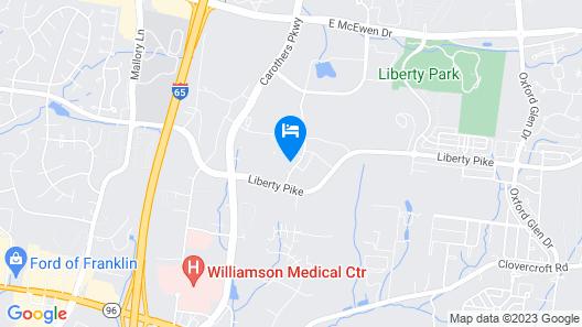 Tru by Hilton Franklin Cool Springs Nashville Map