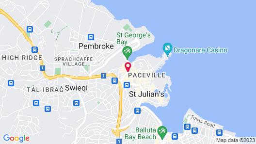 InterContinental Malta Map