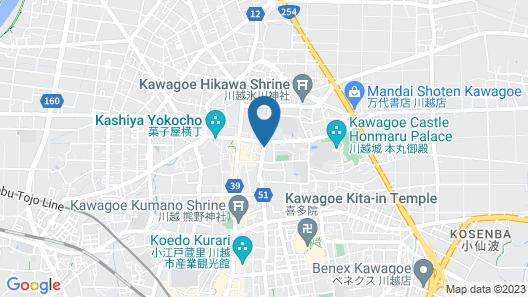 Ryokan Matsumuraya Map