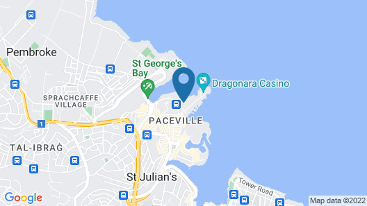 The Westin Dragonara Resort, Malta Map