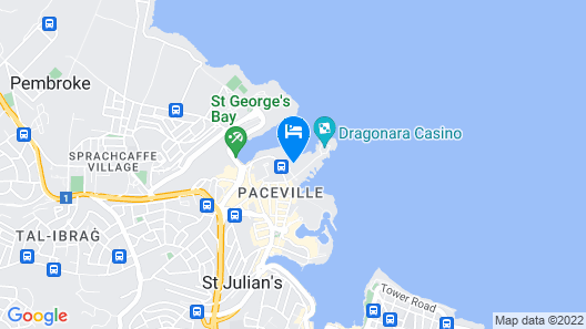 The Westin Dragonara Resort, Malta Map