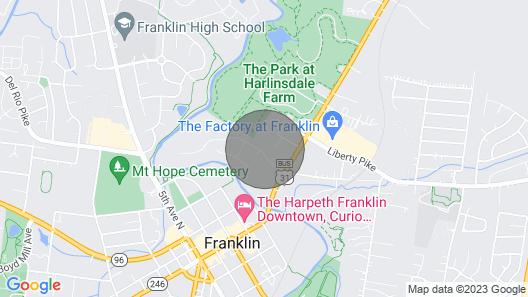Garden Gate Cottage Downtown Franklin Unit A Map