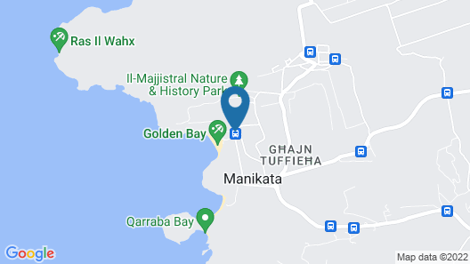 Radisson Blu Resort & Spa, Malta Golden Sands Map