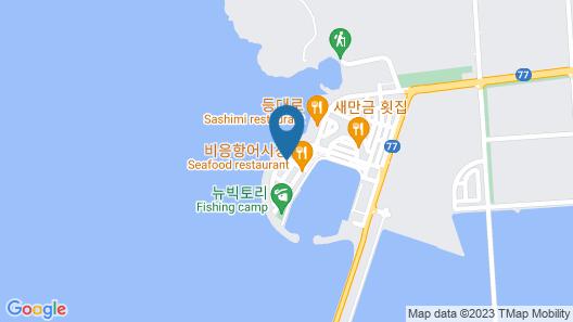 Gunsan Island Hotel Map