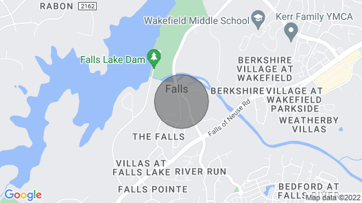The Mill House - Historic Bungalow by the River - Raleigh/wake Forest Map