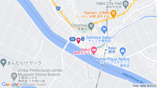 New Makomo Hotel Map