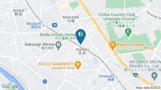 Business Hotel Noda Map