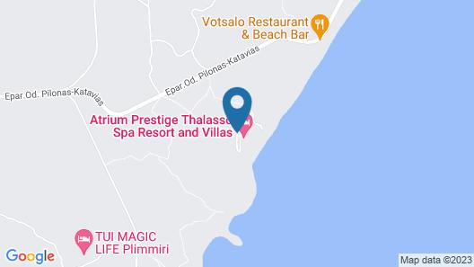 Atrium Prestige Thalasso Spa Resort & Villas Map