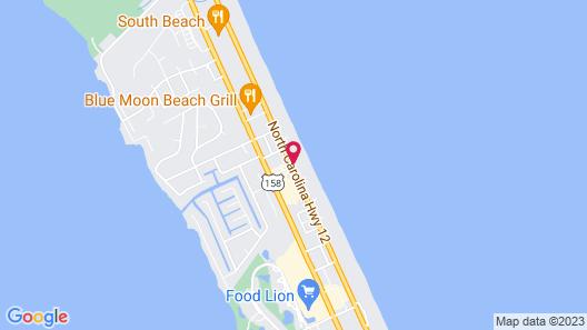 Holiday Inn Express Nags Head Oceanfront, an IHG Hotel Map