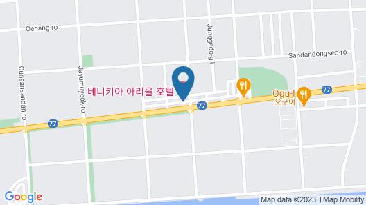 Benikea Ariul Hotel Map