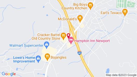 Best Western Newport Inn Map
