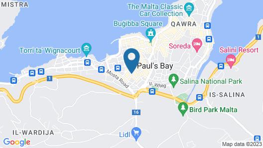 The San Anton Hotel Map