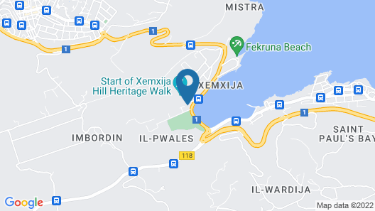 Porto Azzurro Aparthotel Map