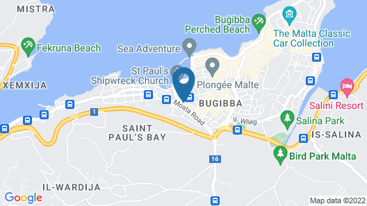 Pebbles Resort Map