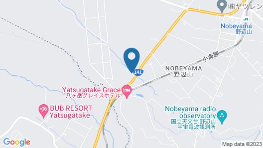 Suite Villa Panora Yatsugatake Map