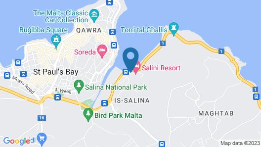 Salini Resort Map