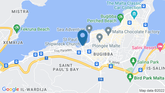 Gillieru Harbour Hotel Map